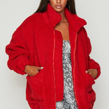 Fuzzy Wuzzy Oversized Coat