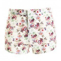 LOVE Floral Ditzy Print Shorts - Love