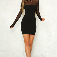 Peace Maker Dress Black