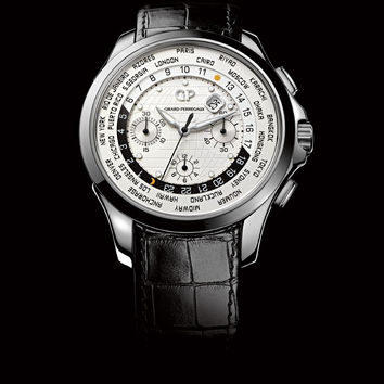 Girard-Perregaux Traveller ww.tc Chronograph Steel Men's Watch 49700-11-133-BB6B