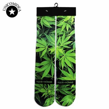 Dope Printed Socks - Trippy Patterns - Weed Sox