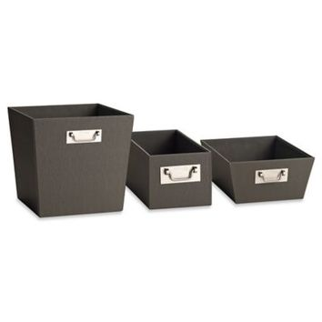 Kenneth Cole Reaction Home Bin in Grey