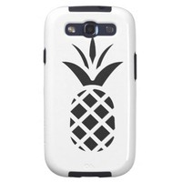 Black Pine Apple Galaxy S3 Case