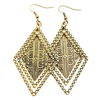Tribal Trap Girl Earrings