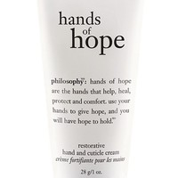 philosophy 'hands of hope' hand & cuticle cream (1 oz.)
