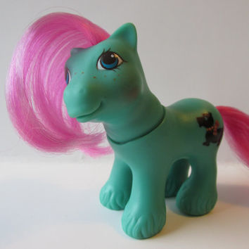 My Little Pony Toy Baby Paws Boy Vintage Hasbro 1980s