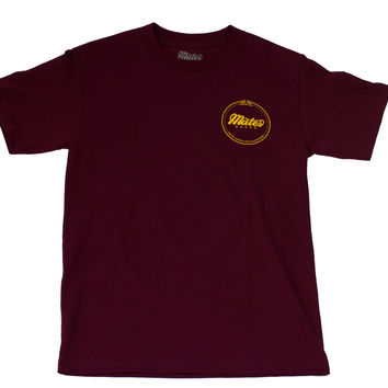 Premium Quality Tee (Burg/Yellow)
