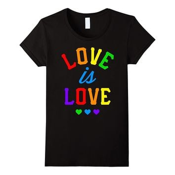 Love Is Love Gay Pride Tee