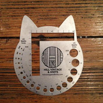 Cat Head Needle Gauge