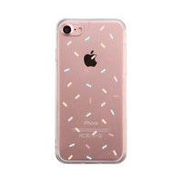 Sprinkles Pattern Phone Case Cute Clear Phonecase