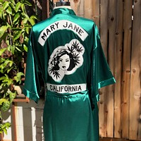 Mary Jane Gang Smoking Robe