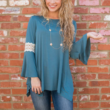 See The World Top, Teal