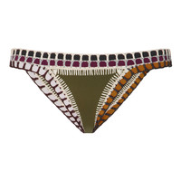 Wren Crochet-Trimmed Triangle Bikini Bottom | Moda Operandi