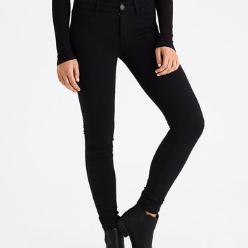 AEO Denim X Super Soft Jegging, True Black