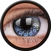 ColourVue Jewel Silver Coloured Contacts