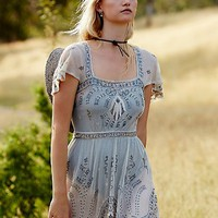 Free People Notting Hill Mini Dress