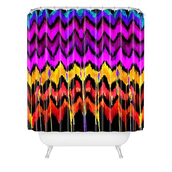 Holly Sharpe Navajo Haven Shower Curtain