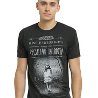 Miss Peregrine's Home For Peculiar Children Book Cover T-Shirt