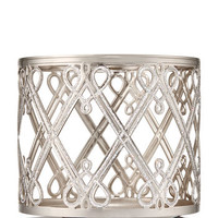 HOLIDAY HEARTS & DIAMONDS3-Wick Candle Sleeve