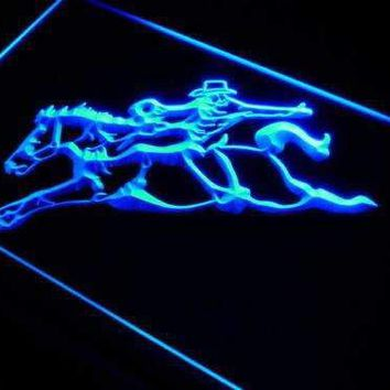 Western Cowboy Horse Rider Neon Sign (LED)