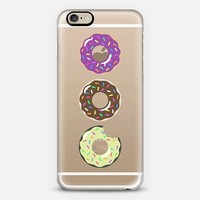 Donuts iPhone 6 case by Zeke Tucker | Casetify