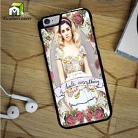 Marina And The Diamond Hate Everything iPhone 6S Case by Avallen