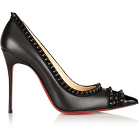 Christian Louboutin - Malabar Hill 100 spiked leather pumps