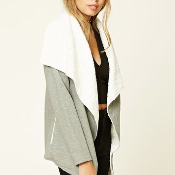 Fleece-Lined Heathered Jacket