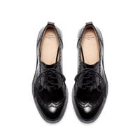 BROGUE BLUCHER - Shoes - Woman | ZARA United Kingdom