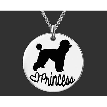 Poodle Necklace | Poodle Jewelry