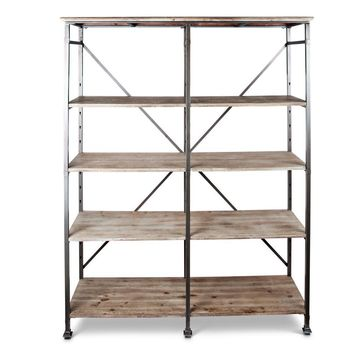 "74.25""H Heavy Iron Fram Shelf"