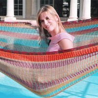 Mayan Hammock Family Size-* Pay Standard Shipping and Receive Priority in 1 Day at your front Door *