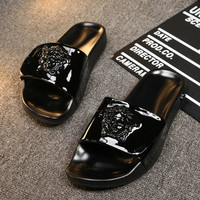 Trendsetter Versace Women Fashion Casual Slipper Shoes