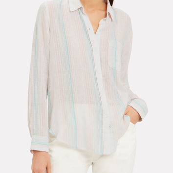 Marbella Stripe Button Down Shirt