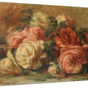 Discarded Roses Giclee Print by Pierre-Auguste Renoir at Art.com