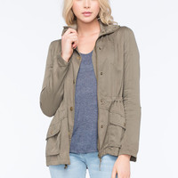 FULL TILT Rayon Womens Anorak Jacket | Jackets