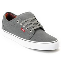 Vans Chukka Low Mexican Blanket Grey Canvas Skate Shoes
