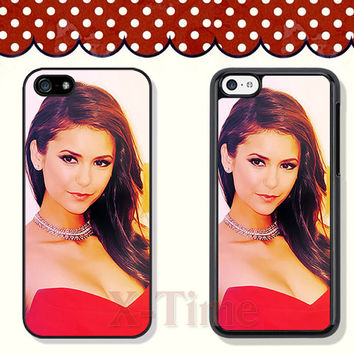 Nina Dobrev, iPhone 5 case iPhone 5c case iPhone 5s case iPhone 4 case iPhone 4s case, Samsung Galaxy S3 \S4 Case --X51128