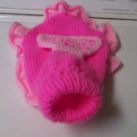Knitted Petite Spoil Rotten Dog sweater