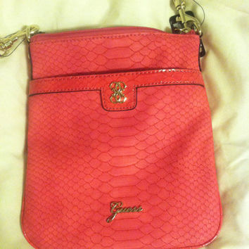 Guess Pink CrossBody Hangbag