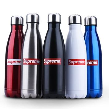 """Supreme"" Cute Coffee Drinks Hot Deal Sports Bottle Cup [9361196231]"