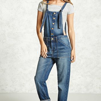 Contemporary Denim Overalls