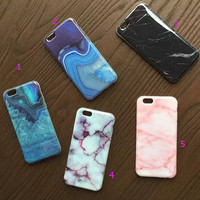 Marble mobile phone case for iphone 5 5s SE 6 6s 6plus 6s plus + Nice gift   box!