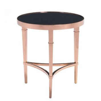 Elite Side Table | Rose Gold