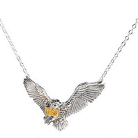 Harry Potter Flying Hedwig Pendant by Noble Collection | HarryPotterShop.com