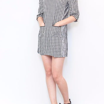 Classic Checkered Dress