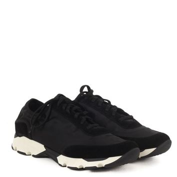 Marni Black Nylon Sneakers