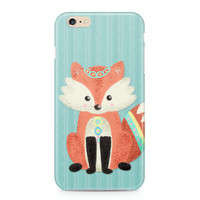 Cute Little Fox Phone Case, Woodland Phone Case, Forest Friends Phone Case, Sweet Phone Case, iPhone, Samsung Galaxy