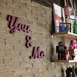 You and Me recycled wood signs by WilliamDohman on Etsy