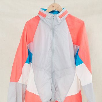 Vintage Nike Color Block Windbreaker Jacket - Urban Outfitters